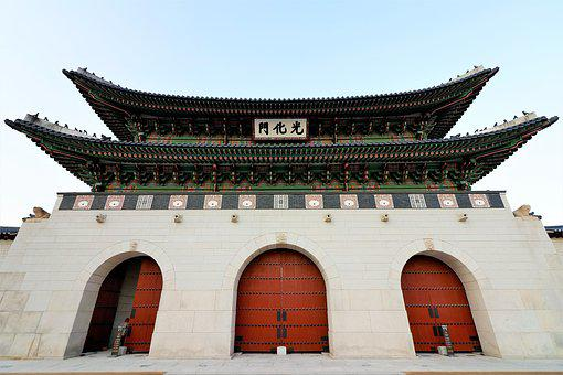 Gwanghwamun, Gyeongbok Palace, Forbidden City, Seoul
