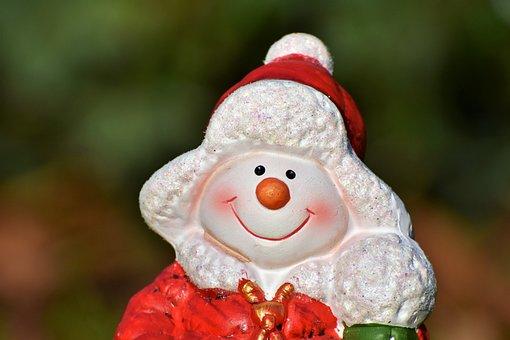 Nicholas, Santa Claus, Snow Man, Figure