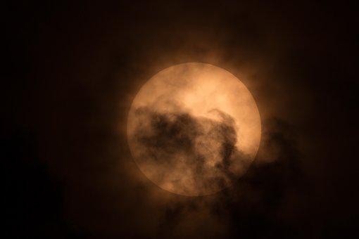 Sun, Merkur Transit, Celestial Body, Sun Ball, Cloud