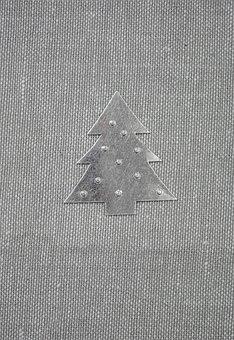 Background, Christmas, Minimalistic, Tree, Decoration