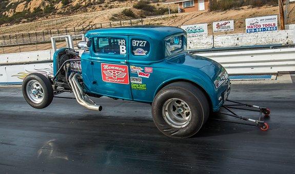 Model A, Ford, Wheelie
