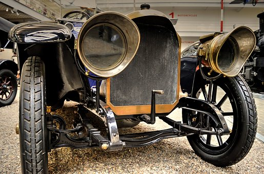 Benz, 16 40, Ps, Oldtimer, Prague, Headlight