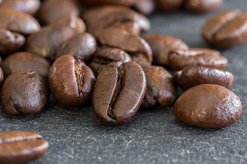 Coffee Beans, Beans, Coffee, Roasted, Roasting
