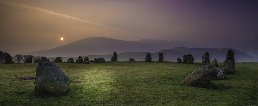 Lake District, Castlerigg, England, Landscapes, Cumbria
