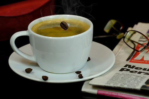 Coffee, Coffee Cup, Coffee Bean, Bean, Cup, Drink