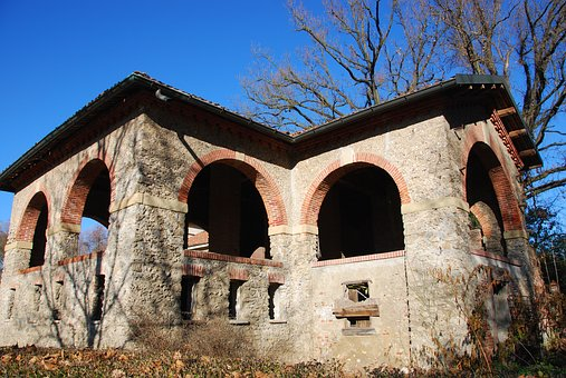 Cascina, Mill, Park, Monza, Farm, Campaign, Sky, Blue