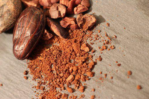 Cocoa, Cacao, Chocolate, Food, Sweet, Brown, Ingredient