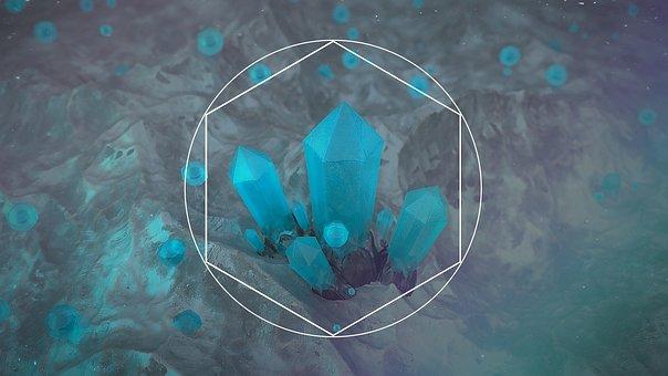 Chrystal, Stone, 3d, Render, Geology, Macro, Mineral