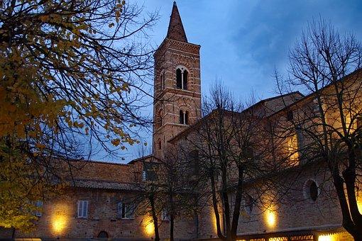 Campanile, Urbino, Brands, Gothic, Mullioned