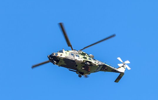 Helicopter, Blackhawk, Attack Helicopter