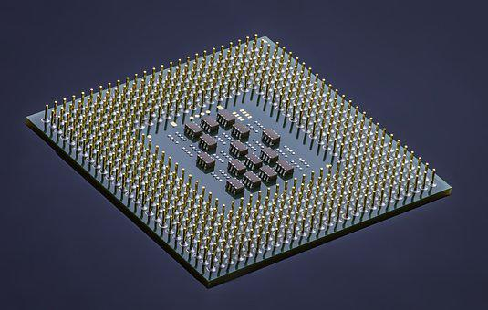 Electronics, Integrated Circuit, Technology, Chip