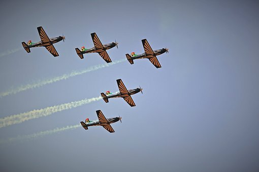 Jet Aircraft Formation, Aircraft, Jet, Formation