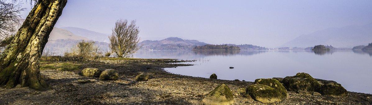 Lake District, Landscape, England, Lake, Derwent, Uk