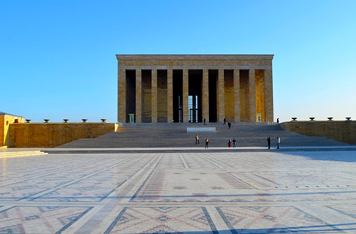 Turkey, Mausoleum, Atatürk, Respect, Ankara