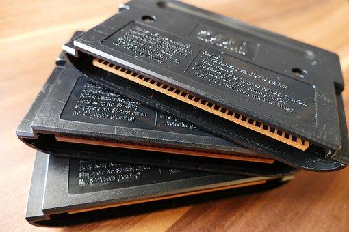 Mega Drive, Cartridge, Game, Games, Gaming, Retro