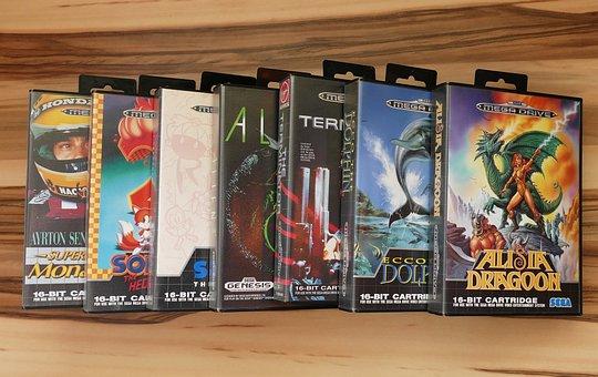 Sega, Mega Drive, Console, Games, Gaming, Video Games