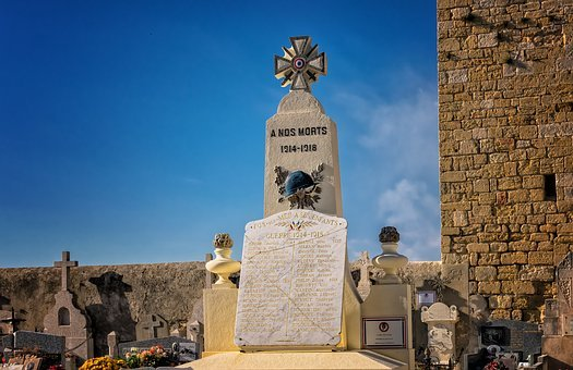 Cemetery, Memory, Memorial, France, Old Cemetery