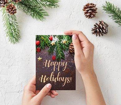 Christmas, New Year, Happy, Happy New Year, Card, Xmas