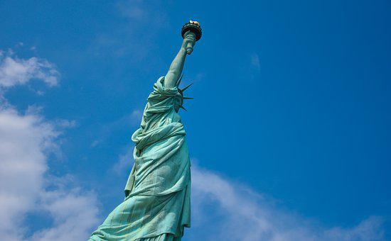 Statue Of Liberty, New York, Statue, United States