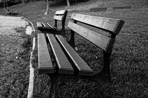 Bench, Park, Park Bench, Outdoor, Seat, Nature, Wood