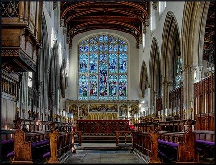 Church, Interior, Religion, Architecture, Building