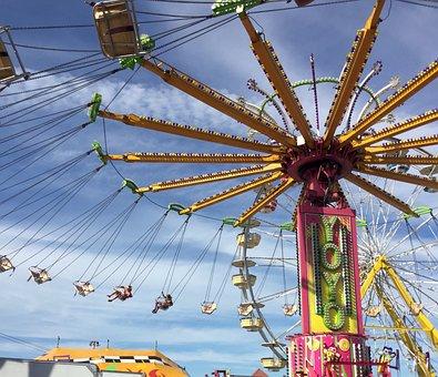 Fair, Ride, Swing, Carnival