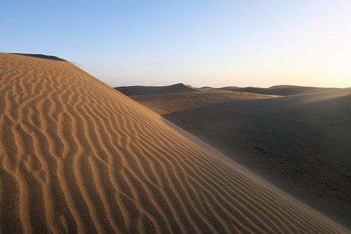 Sand, Dune, Desert, Sahara, Solitude