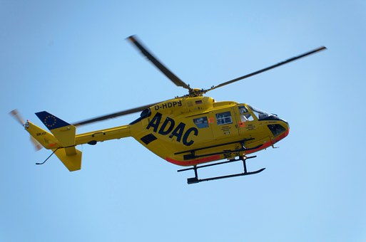 Adac, Helicopter, Yellow Angel, Air Rescue, Scam