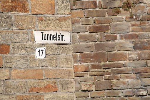 Altenahr, Tunnelstraße, Sign, Name, Street, Number
