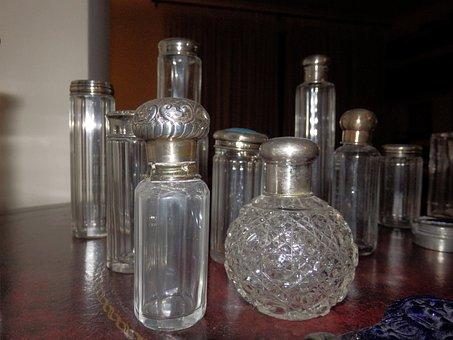 Bottles, Antique, Old, Glass, Vintage, Decoration