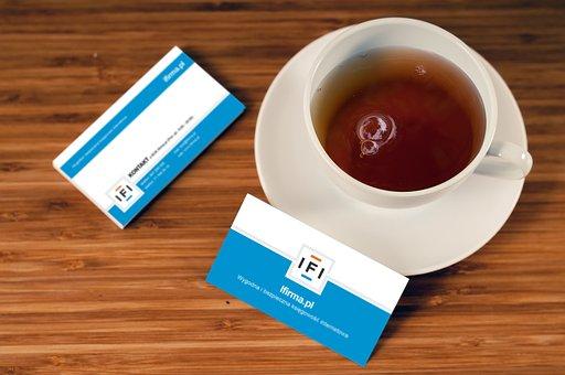 Business Card, Company, Address, Name, Logo