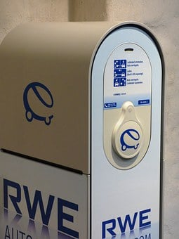 Loading, Current, Battery Charger, Rwe, Energy, Car