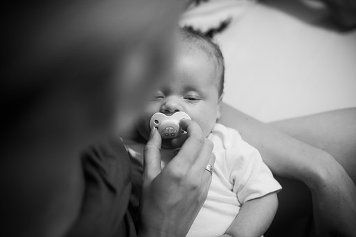 Children, Infant, Pacifier, Baby, Toddler, Child, Boy