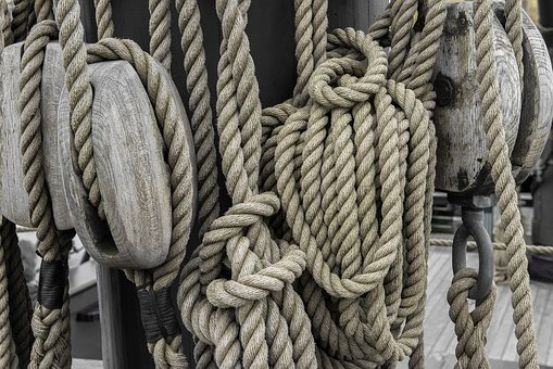 Amsterdam, Wood, Rope, Ship, Cleats, Retro, Holland