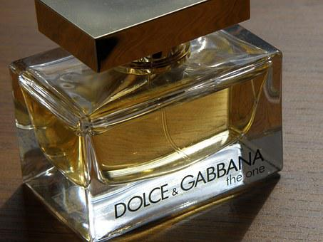 Dolce, Gabbana, Perfume, Bottle, Vial, Cosmetics