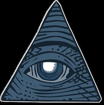 All Seeing Eye, Dollar, Conspiracy Theory, Illuminati