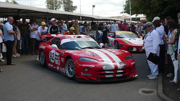 Sports Car, Dodge Viper, Goodwood, Festival, Muscle