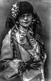 Lilian Gish - Female, Portrait, Stag, Film