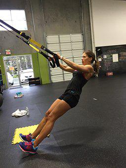 Trx, Row, Workout, Fitness, Strength, Back, Athlete
