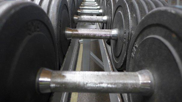 Dumbbells, Body Building, Fitness, Fitness Studio