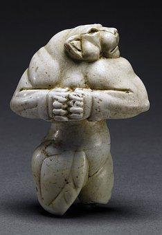 Figure 5000 Years, Half Woman Half Lion