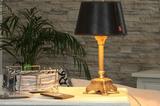 Lamp, Decoration, Shabby Chic, Light, Lighting, Heat