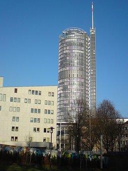 Skyscraper, Aalto Theatre, Building, Home, Rwe Tower