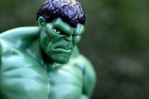 Incredible Hulk, Superhero, Strong, Muscles, Green