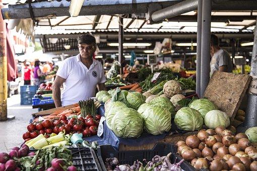 Fresh, Market, Farmer, Vegetables, Goods, Grow, Fruit