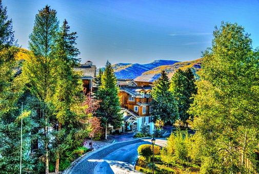 Vail, Colorado, Nature, Usa, Travel, Destination