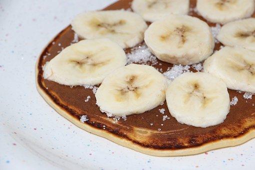 Pancake, Crepes, Eat, Food, Crepe, Banana, Sugar