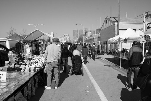 Maxwell Street Market, Chicago, Street Vendor
