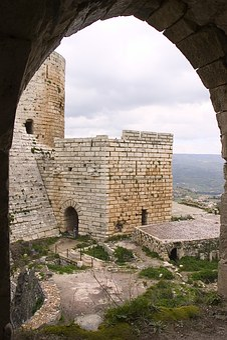 Syria, Crac Des Chevaliers, Altheimat, Crusader Castle