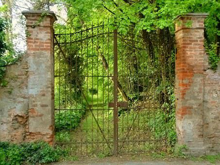 Gate, Entrance, Viale, Garden, Park, Threshold, Parks